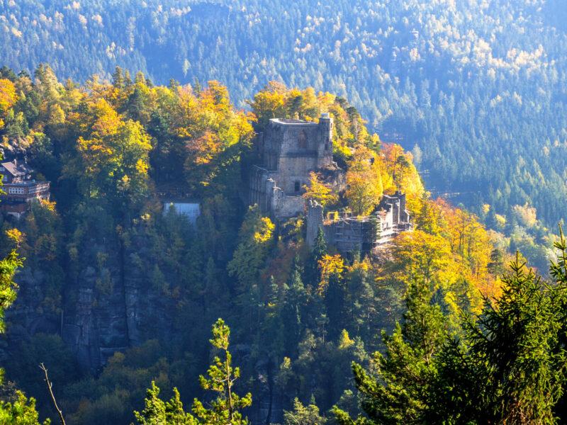 Zittauer Hills Saxony castle Oybin